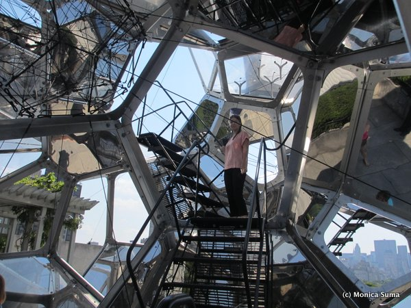 Tomás Saraceno on the Roof: Cloud City