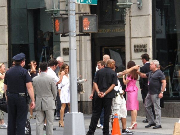 Filming Sex And The City