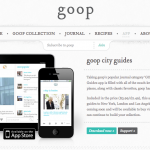 Gwyneth Pathrow talks travel by launching Goop city guides app