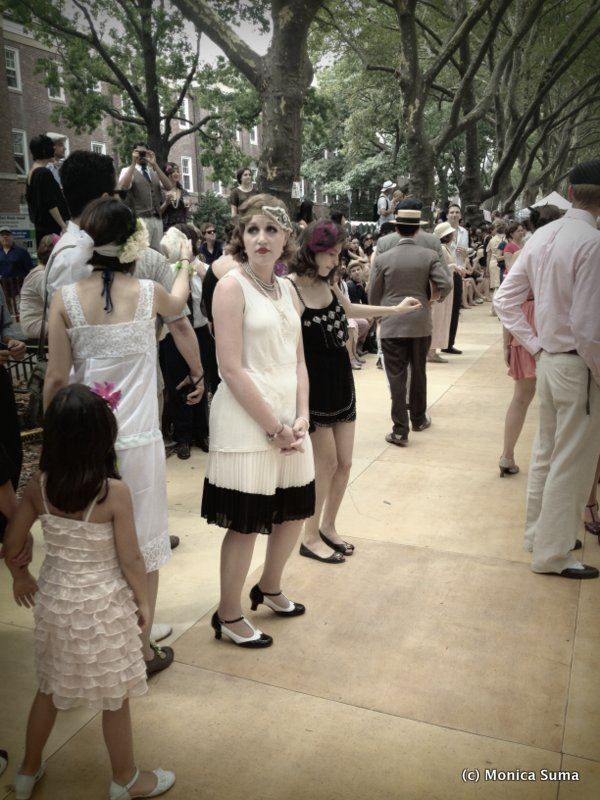 1920s fashion Jazz Age Lawn party