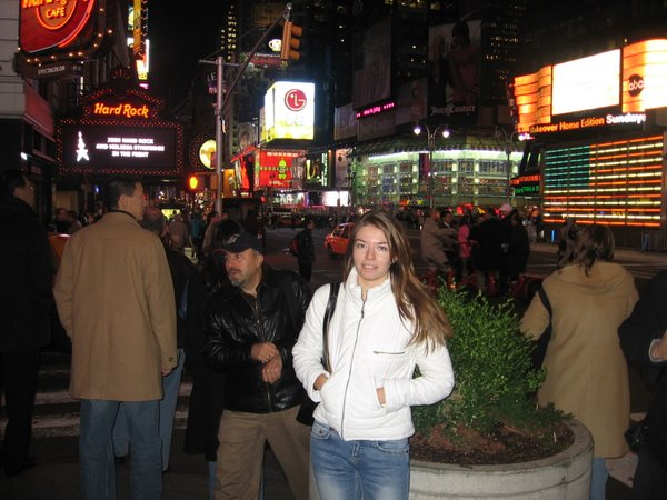 October 2005. First time in New York City