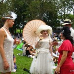 Flapper girls and the 1920s at the Jazz Age Lawn Party