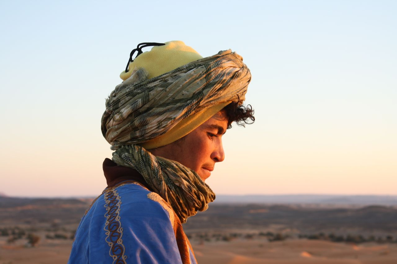 AR OSE Bedouin in the Sahara ERg Chebbi
