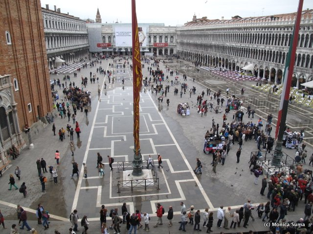 Piazza di San Marco from above
