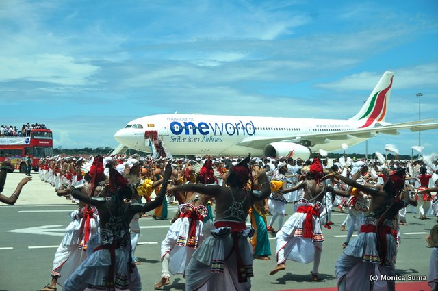 Sri Lankan Airlines joins oneworld ceremony
