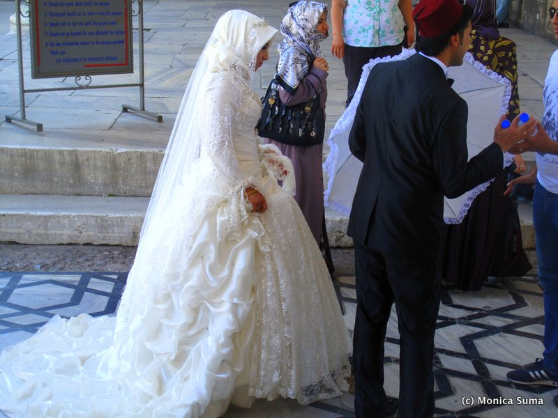 Turkey Muslim Wedding Dress