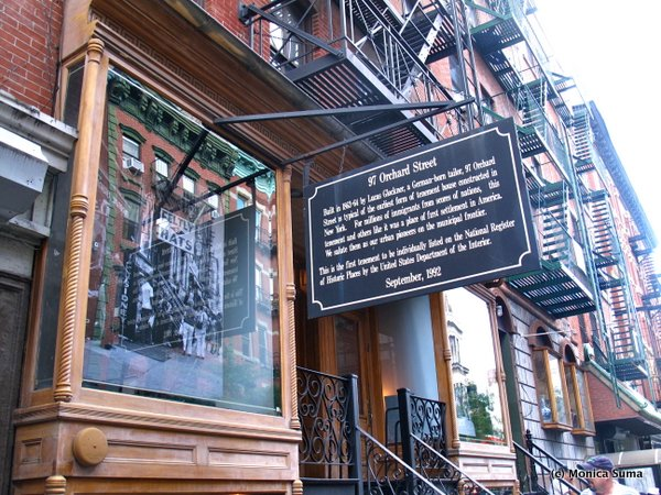 how to visit the tenement museum